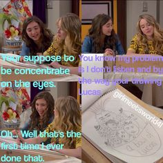 "#girlmeetsworld 1x7 ""Girl Meets Maya's Mother"""