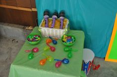 The Fresh beat band party for my daughter's 2nd birthday- Reed's Instrument Shop