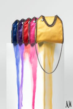 Why worry about choosing one when you can have them all? Shop Falabella totes and minis by Stella McCartney.