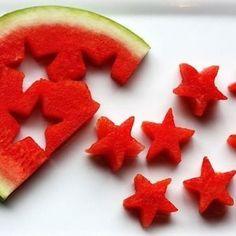 Vrolijk watermeloen feestje!