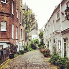 One of my very favorite neighborhoods in London - Kensington. Ever so charming!