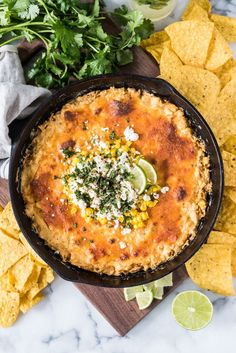 This Mexican Corn Dip recipe made whole kernel corn, lots of cheese and a blend Mexican spices is creamy, satisfying and addicting. It's the perfect appetizer for parties and celebrations like Cinco de Mayo! #cincodemayorecipes #health #healthy #healthyrecipes #healthyliving #healthylifestyle #healthylife