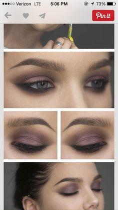 dark purple smokey