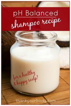 pH Balanced Shampoo Recipe