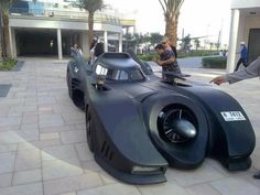 Batmobile inspired electric wind car