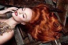 Image result for red heads orange makeup