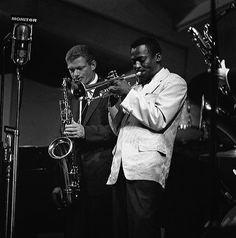 Miles Davis, Zoot Sims Newport Jazz Festival , 1955