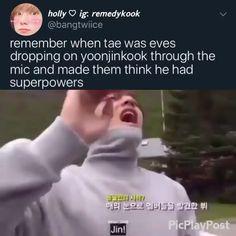 Bts Taehyung, Bts Bangtan Boy, Bts Jimin, Bts Funny Videos, Bts Memes Hilarious, Bts Tweet, Jung So Min, E Dawn, Memes Br