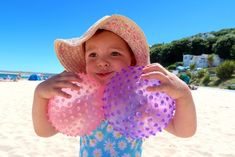 Have you been to the beach with your baby or toddler yet? We've put together our 15 tips for surviving the beach with a toddler. Nanny Agencies, Summer Bucket Lists, Baby Health, Survival Knife, Crochet Hats, Beach, Tips, Holiday, Vacation