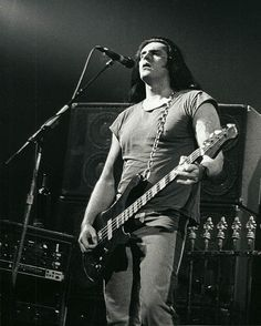 Peter Steele: Lead singer and bassist for Type O Negative. Extremely tall dude