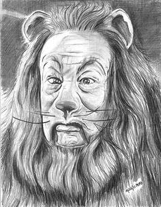 The Cowardly Lion by marmicminipark.deviantart.com on @deviantART