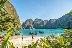 The Phi Phi islands are some of the loveliest in Southeast Asia. Just a 45-minute speedboat trip or a 90-minute ferryboat ride from either Phuket or Krabi, these picture postcard islands offer the ultimate tropical getaway. Featuring classic tropical beaches, stunning rock formations and vivid turquoise waters teeming with colourful marine life, it is paradise perfected.