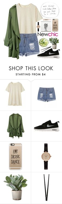 """""""#477 Egress ( Newchic 13 )"""" by mia5056 ❤ liked on Polyvore featuring NIKE, Casetify, Barbour, Torre & Tagus and CB2"""