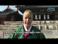 Korean Palace - Changgyeonggung [Take Care of the Flowers in Myeongjeongjeon Hall] - YouTube