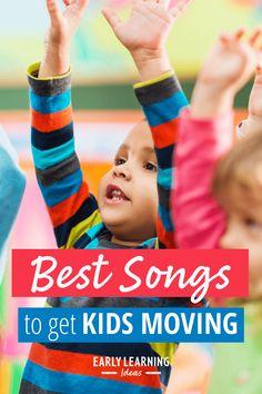 Preschool Movement Songs: 10 Favorite Action Songs for Kids