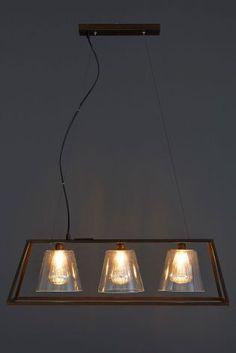 Islington 3 Light Pendant Bar from Next