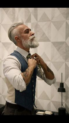 Alessandro Manfredini, great beard