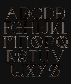 29 Eye-Catching Art Deco Fonts   Web & Graphic Design   Bashooka