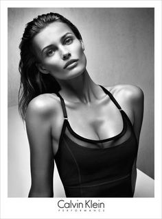 Edita Vilkeviciute. slightly wet hair - good for athlete shoot. Find Inspirations at Monica Hahn Photography