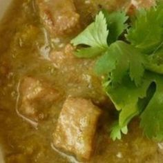 Spring Hill Ranch's Pork Green Chili Recipe | Just A Pinch Recipes