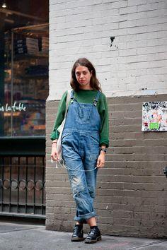 ストリートスナップ [jeanne giacobetti]   AMERICAN TWO SHOT, Dr.Martens, Levi's®, ドクターマーチン, リーバイス   ニューヨーク   Fashionsnap.com