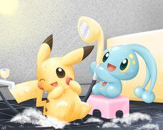 Pikachu Manaphy