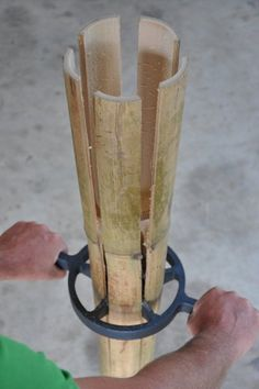 Japanese Tools   Bamboo splitter 200mm from Bamboo Land Nursery (QLD Australia)