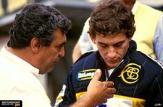 Ayrton Senna Magic Immortal: Ayrton Senna e seu manager pessoal, Armando Botelho
