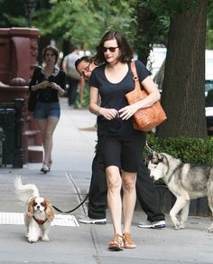Liv Tyler's pampered pups