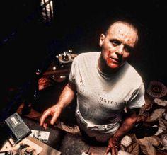 """Anthony Hopkins en """"El Silencio de los Corderos"""", 1991"""