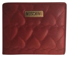 b8fff9920 Moschino Red Leather Hearts. Free shipping and guaranteed authenticity on  Moschino Red Leather Hearts at