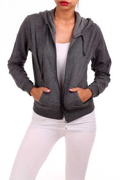 This Solid French Terr... is a wardrobe staple. Get yours now! http://gozon-boutique.myshopify.com/products/solid-french-terry-zip-up-jacket?utm_campaign=social_autopilot&utm_source=pin&utm_medium=pin