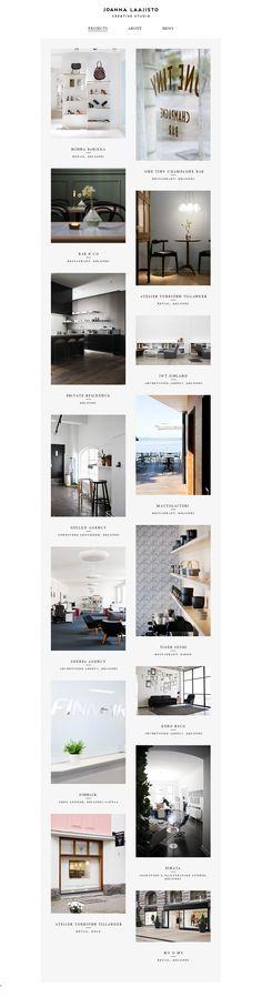 Website 'http://joannalaajisto.com/projects/' snapped on Snapito!