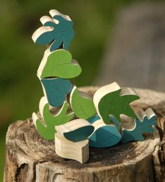 Wood Puzzle Eco friendly toy Educational Toy by TinocchioToys