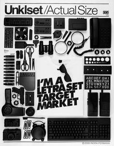 I'm a Letraset Target Market