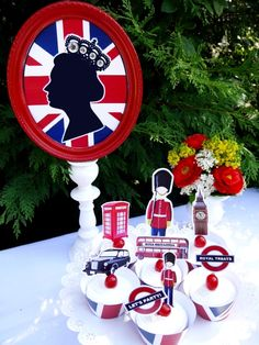 English Tea Party Supplies | British Queen Jubilee Celebrations Printables