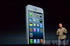 Live from Apple's iPhone 5 event! - The Verge #apple #applekeynote # iphone5