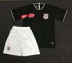 f98cf26d0b5 Kids/Youth Corinthians 19/20 Wholesale Away Cheap Soccer Kit Sale Cheap  Jersey Kids