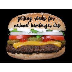 With @kendraa3 in Laredo getting ready for National Hamburger Day tomorrow!   #hamburgerday #burger #hamburguer #nationalhamburgerday #food #hamburger #may28th #foodporn #burgers #cheeseburger #yum #burgerday #foodie #burgerjoint #comfortfood #instafood #lunch #foodpics #hungry #cheese #foodgasm #tasty #fries #yummy #daily #fastfood