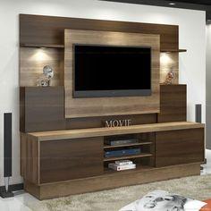 Compre Estante Home Teather para TV até 50 Polegadas com 2 Portas de Correr Accord Ipe TX/Rovere - Notavel em Promoção com ✓ Até 12x ✓ Fretinho