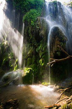 Gorman Falls Springtime - Colorado Bend State Park, Texas