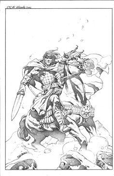 Conan the Cimmerian #1 B Cover by Tomas Giorello Comic Art