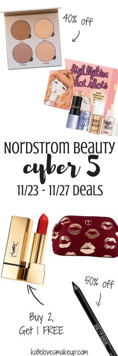 Nordstrom Beauty Cyber 5 Deals | Kate Loves Makeup - NORDSTROM BEAUTY CYBER 5 DEALS by Texas beauty blogger Kate Loves Makeup