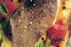 Saint-pierre au plat dans son jus aux arômes de provence par Joël Robuchon