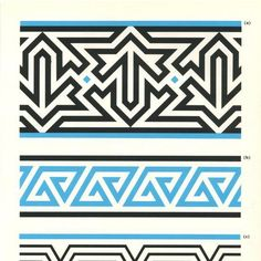I like the use of right-triangles in this. Pattern in Islamic Art Islamic Art Pattern, Arabic Pattern, Pattern Art, Art Ancien, Geometric Pattern Design, Peyote Patterns, Embroidery Art, Textile Prints, Pattern Wallpaper