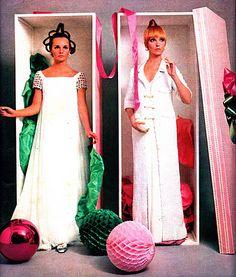 2 vestidos do Clodovil.