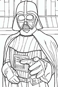 Darth Vader Coloring Page Awesome 16 Best Star Wars Coloring Pages & Party Fun Images On Star Wars Coloring Book, Disney Coloring Pages, Printable Coloring Pages, Coloring Pages For Kids, Coloring Books, Darth Vader Star Wars, Lego Star Wars, Star Wars Birthday, Star Wars Party
