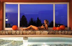 La piscina interna dell'Alp Sport Hotel Panorama a Fai della Paganella #wellness #paganella #trentino