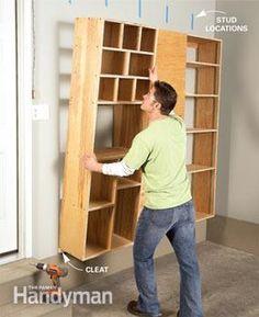 Garage Storage: Backdoor Storage Center - Step by Step: The Family Handyman