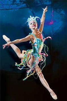 Celebrate the present with La Belle: Mystère by Cirque du Soleil